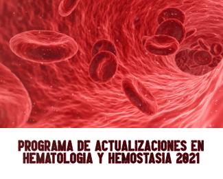 Course Image PROGRAMA DE ACTUALIZACIONES EN HEMOSTASIA 2021